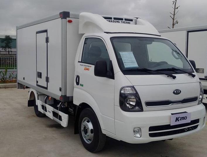 Cần bán xe Thaco Kia K250 Đông lạnh năm 2018, màu trắng, giá chỉ 389 triệu
