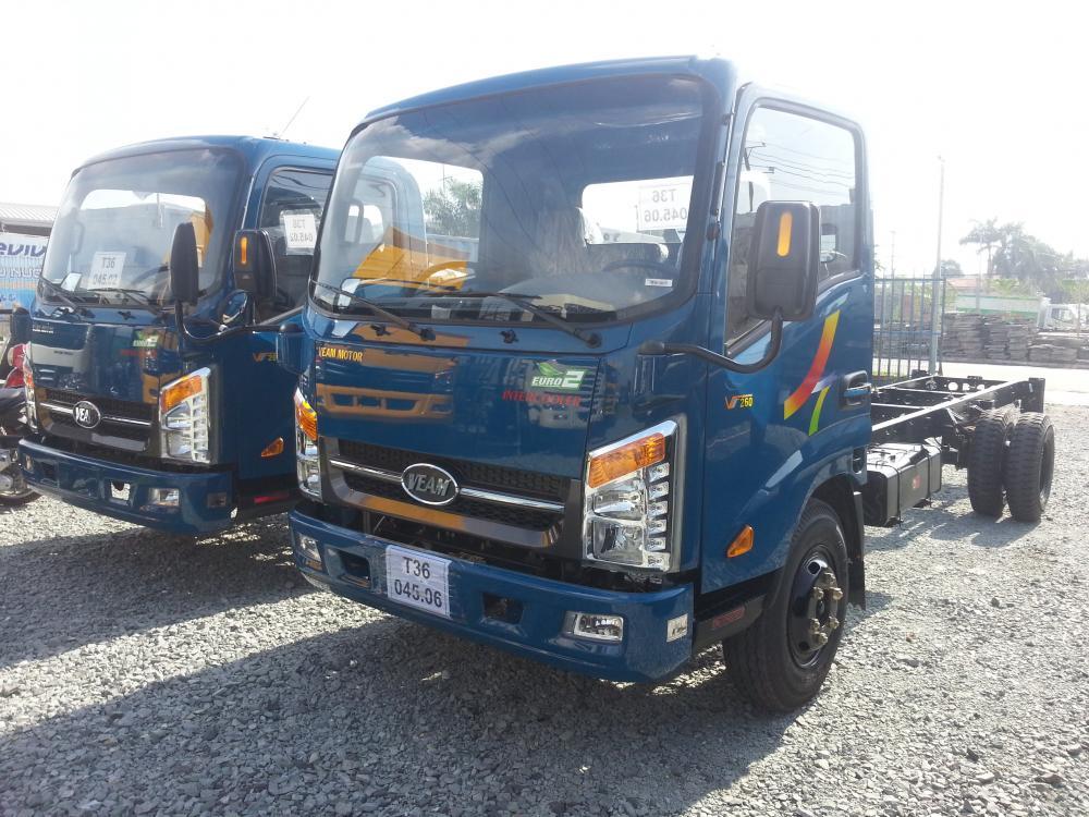 Bán xe tải Veam VT252, thùng 4m3, khuyến mãi lớn