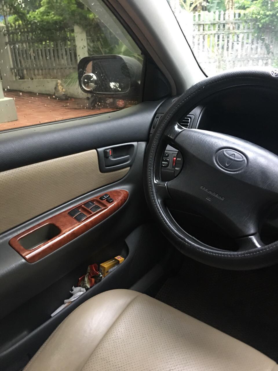 Bán Toyota Corolla altis G năm sản xuất 2005, màu bạc