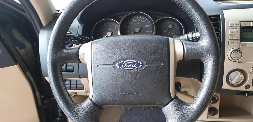 Bán Ford Everest Limited máy dầu, số sàn, đời cuối 2008, màu đen vip tuyệt đẹp
