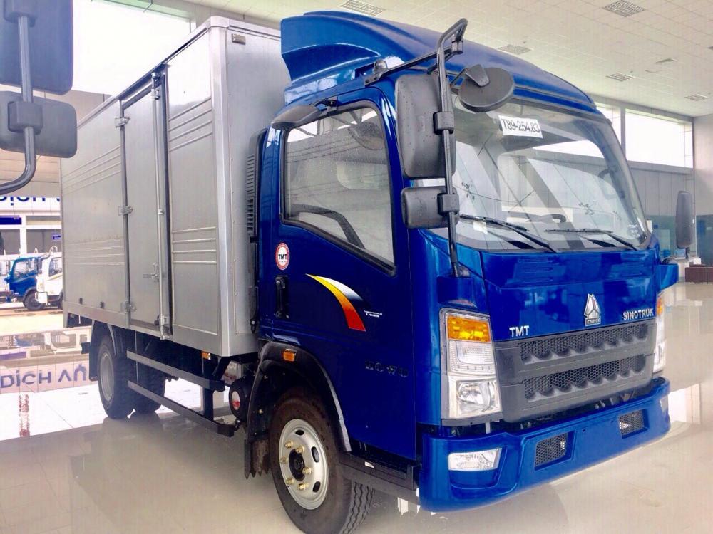 Bán Cửu Long 5 - 7 tấn sản xuất năm 2017, màu xanh lam, xe nhập, giá tốt