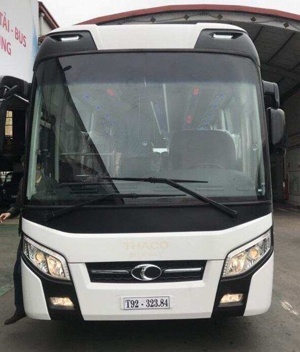 Xe khách Thaco TB120, xe khách Thaco 47 chỗ giá tốt nhất Hà Nội
