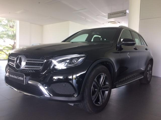Bán xe Mercedes-Benz GLC200 2018, màu đen, 4.800km, 2% thuế trước bạ