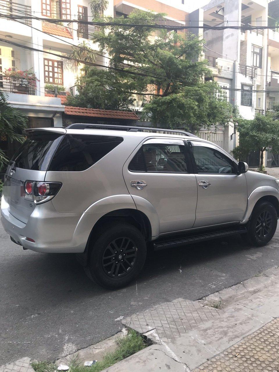 Bán xe Toyota Fortuner G năm 2016, màu bạc