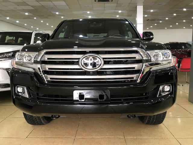 Bán ô tô Toyota Land Cruiser 5.7 Mỹ đời 2019, màu đen, nhập khẩu nguyên chiếc