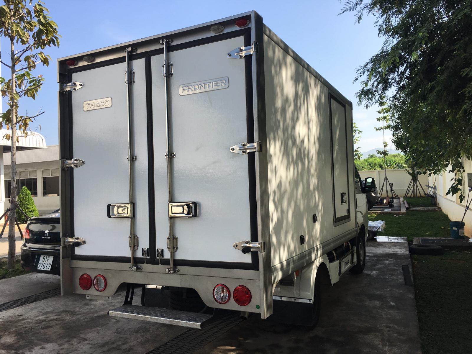 Xe Đông Lạnh KIA K200-K250, 1T4 - 2T4, thùng đông lạnh sửa dụng động cơ HUYNDAI.