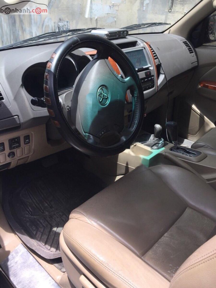 Bán xe Toyota Fortuner năm sản xuất 2011, màu xám, giá tốt