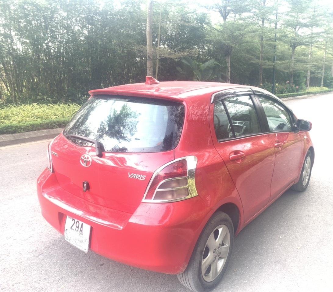 Bán xe Toyota Yaris AT 1.3 số tự động đời 2008, màu đỏ, nhập khẩu nguyên chiếc