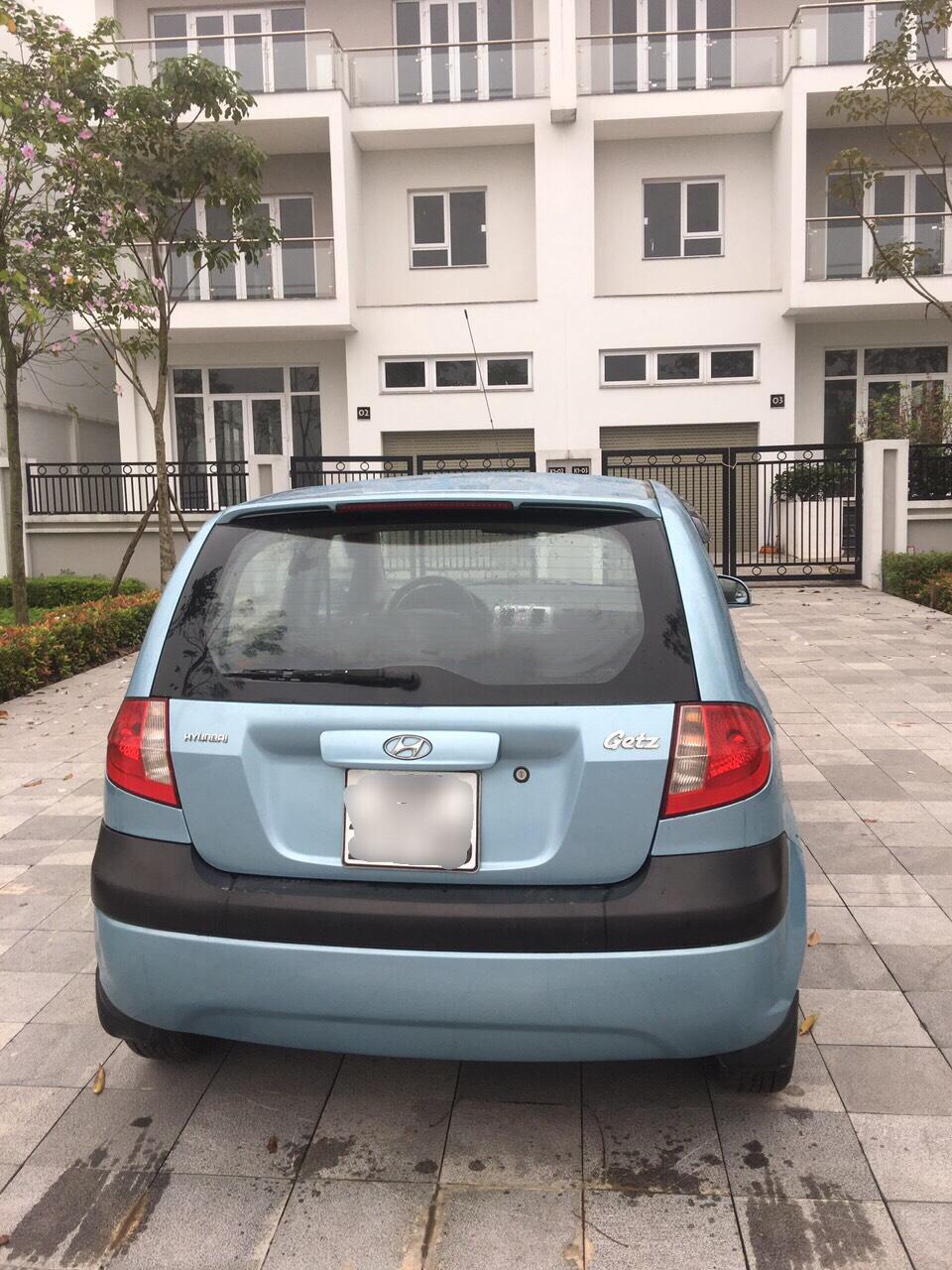 Cần bán Hyundai Getz MT 1.1 số sàn bản đủ đời 2009, màu xanh lam, nhập khẩu nguyên chiếc, giá 162tr
