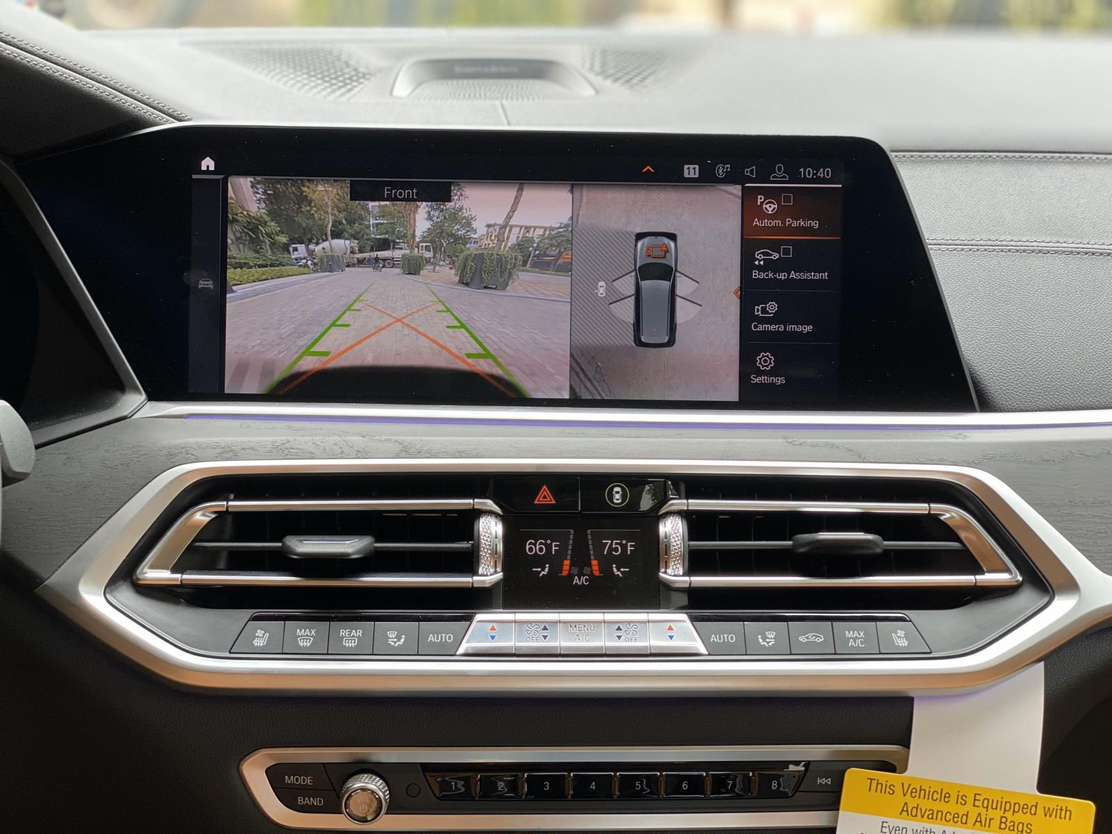 Bán BMW X7  MSPORT 2021, màu trắng nội thất da bò siêu mới - Giá gốc