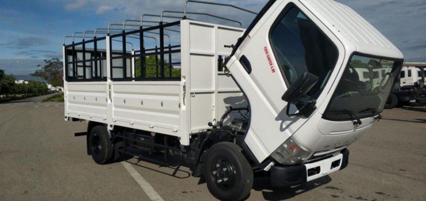 Fuso tải nhật 4.99 tải 1 tấn 9 và 2 tấn 1 thùng dài 4m35