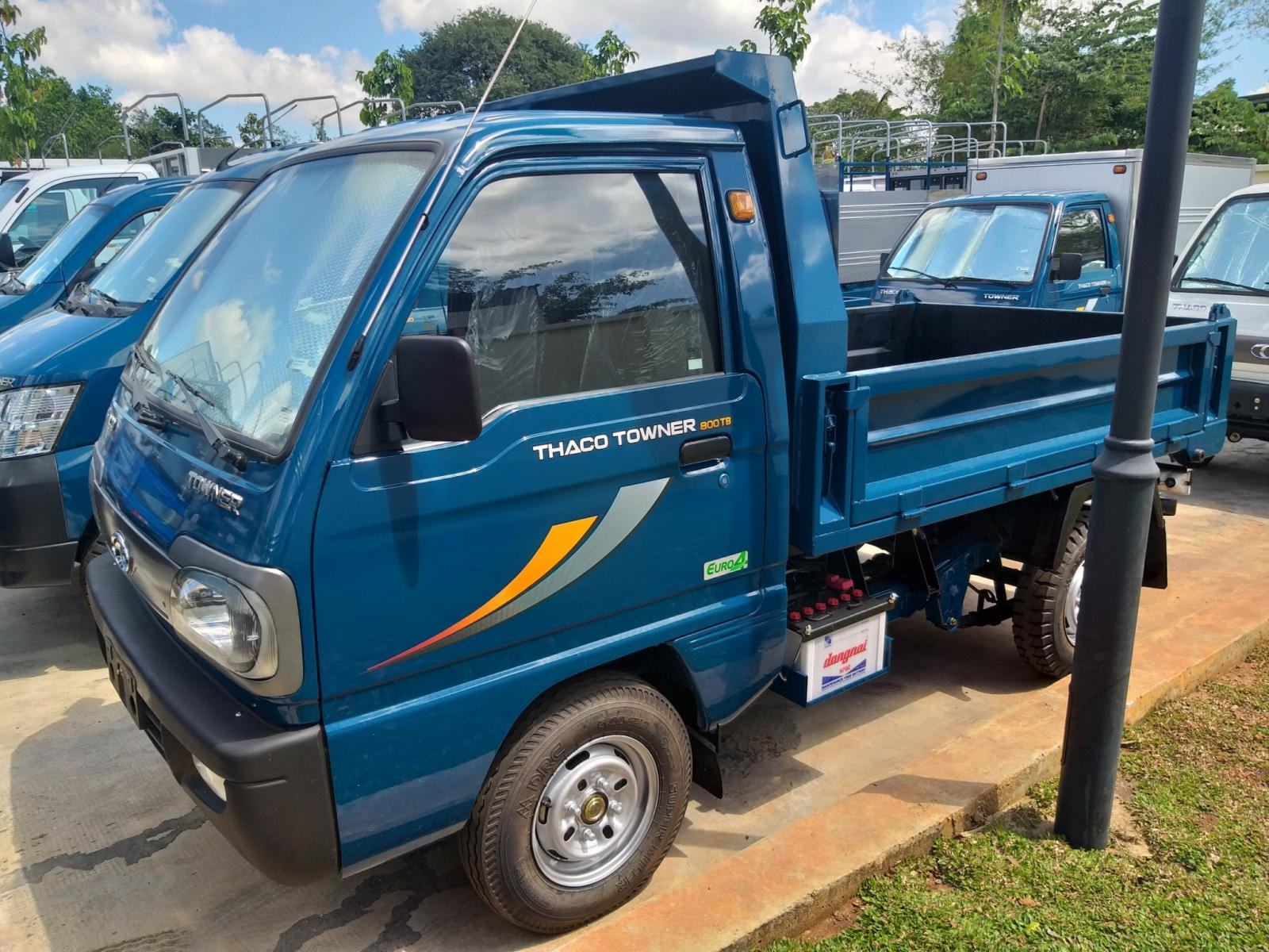 Towner800 tải ben đại lý Vũng Tàu, thích hợp chạy hẻm, giá tốt