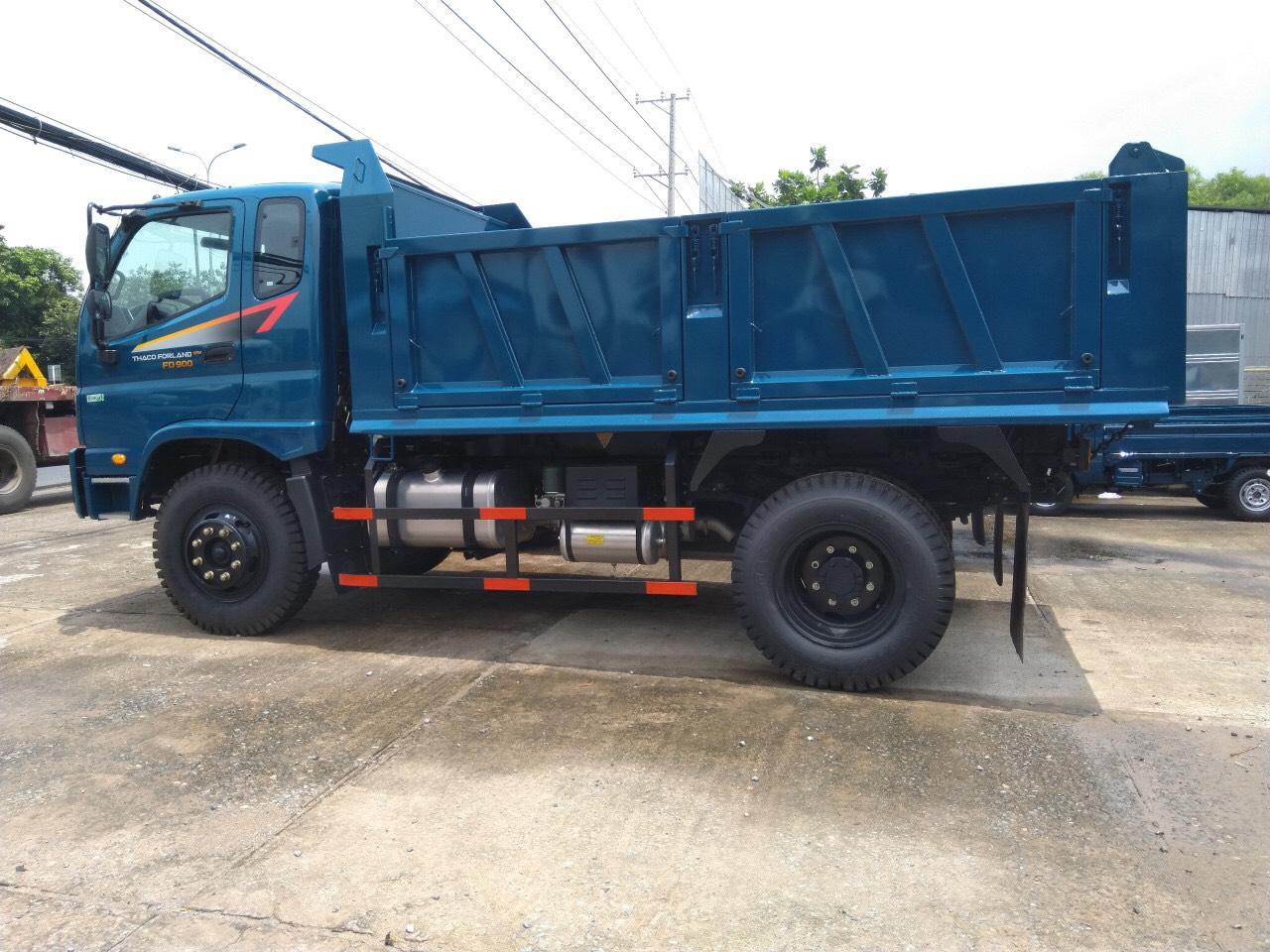 Xe Ben Thaco Forland FD900 1 cầu 8 tấn 6.6 khối Euro 4 - Giá xe ben tốt nhất tại BRVT