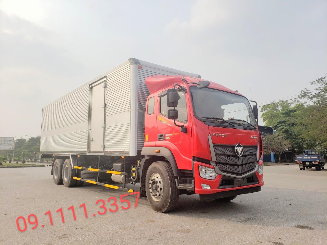 XE Thaco C240 tải trọng trên 13 tấn thùng dài 9m5 tại hải phòng