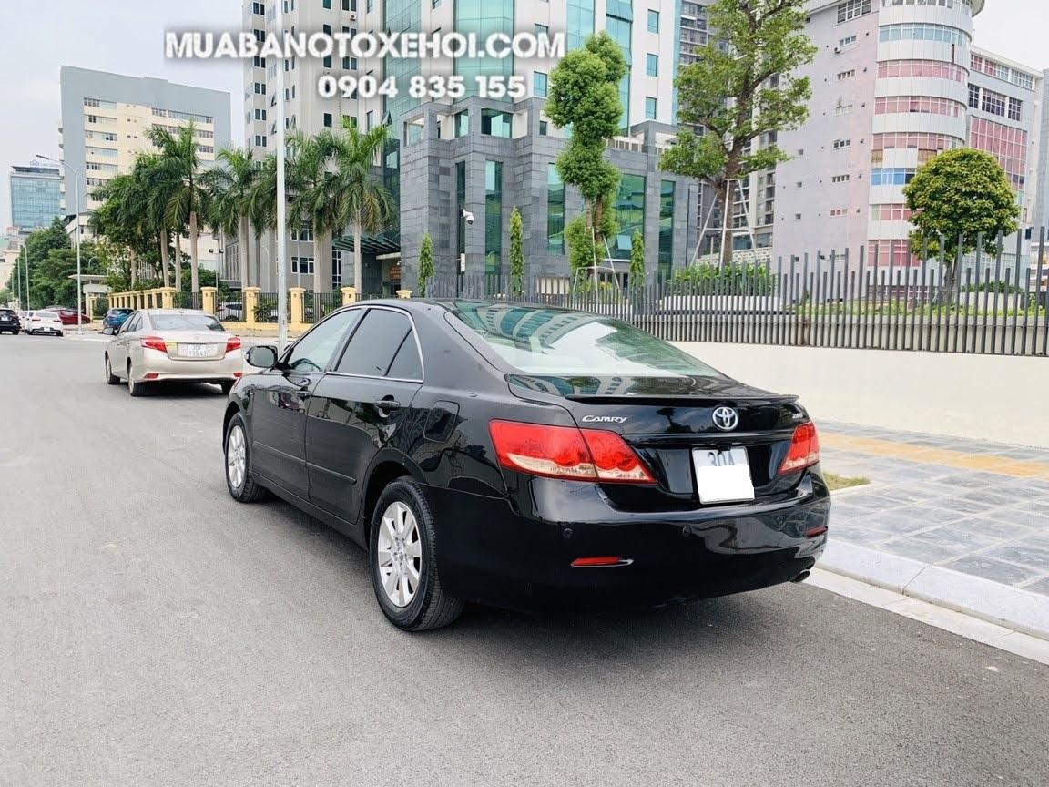 Toyota Camry 2.4 2008 Màu Đen, xe chất đẹp