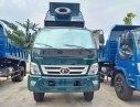 Xe ben 6,5 tấn thùng 5 khối ga cơ – ga điện,  xe ben Bà Rịa Vũng Tàu giá rẻ chở VLXD, xi măng, cát đá