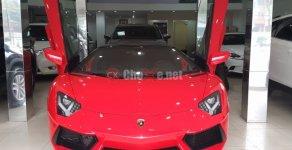 Cần bán Lamborghini Aventado Roadster đời 2016, màu đỏ, nhập khẩu nguyên chiếc giá 2 tỷ 476 tr tại Hà Nội
