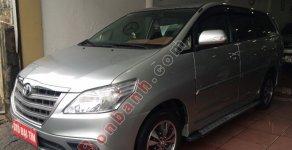 Bán ô tô Toyota Innova 2.0E MT đời 2015, màu bạc giá 745 triệu tại Hà Nội