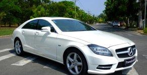 Bán Mercedes CLS 350 AMG đời 2012, màu trắng, nhập khẩu chính hãng, ốp gỗ dương sang trọng giá 2 tỷ 660 tr tại Tp.HCM