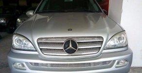 Bán Mercedes ML350 đời 2004, màu bạc, nhập khẩu chính hãng giá 490 triệu tại Hà Nội