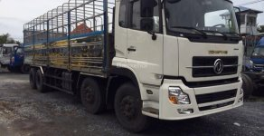 Xe Dongfeng 4 chân nhập khẩu chính hãng máy 315 tải trọng 17.9 tấn bán thanh lý giá 970 triệu tại Hải Phòng
