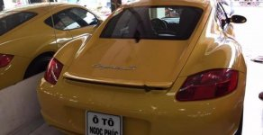 Bán Porsche Cayman S đời 2007, màu vàng, nhập khẩu  giá 1 tỷ 580 tr tại Tp.HCM
