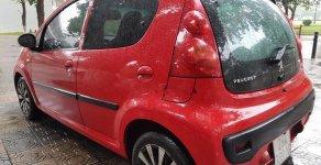Bán Peugeot 107 1.0 AT đời 2011, màu đỏ, nhập khẩu giá 295 triệu tại Hà Nội