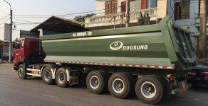 Lì xì đến 10 triệu khi mua Rơ Mooc Ben tải tự đổ 3 trục, 28 tấn, 24 khối Doosung. Mới 100% giá 620 triệu tại An Giang