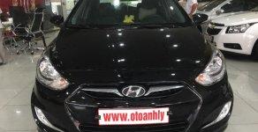 Bán ô tô Hyundai Acent 1.4MT sản xuất 2012, màu đen, nhập khẩu nguyên chiếc, 375tr giá 375 triệu tại Phú Thọ