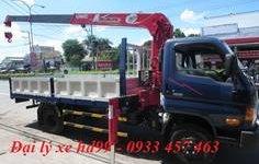 Xe tải cẩu Hyundai HD99 5 tấn 5 hd99 gắn cẩu unic 3 tấn trả góp giá 740 triệu tại Cả nước
