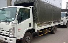 Bán xe tải isuzu , thông số kỹ thuật xe tải isuzu 8T2 thùng bạt 7 bửng giá 840 triệu tại Bình Dương