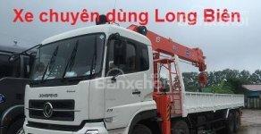 Bán xe tải 4 chân dongfeng gắn cẩu tự hành 12 tấn soosan, unic,... 2017 - 2018 giá 2 tỷ 430 tr tại Hà Nội