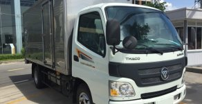 Bán Thaco AUMARK 5 tấn thùng kín 4m2, màu trắng, trả góp TP. HCM giá 387 triệu tại Tp.HCM