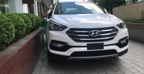 Hyundai Santa Fe bản tiêu chuẩn màu trắng giao ngay trong ngày giá 1 tỷ 20 tr tại Tp.HCM