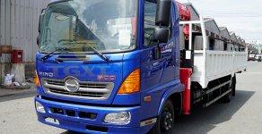 Đại lý xe tải gắn cẩu|bán xe tải HINO FC gắn cẩu|xe tải gắn cẩu HINO FC , hỗ trợ trả góp 80-90 %. giá 200 triệu tại Tp.HCM