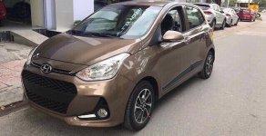 [ Hyundai Quận 4] Bán xe I10 màu nâu giao ngay, 120tr nhận xe giá 370 triệu tại Tp.HCM