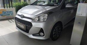 Hyundai Grand I10 new bản đủ đuôi ngắn màu bạc, với khuyến mãi lớn nhất năm giá 370 triệu tại Tp.HCM