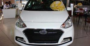 Hyundai Grand I10 2 đầu 1.2L MT màu trắng với giá cực tốt, hỗ trợ đăng kí Grab miễn phí giá 390 triệu tại Tp.HCM