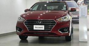 Bán xe Accent 1.4L số tự động tiêu chuẩn màu đỏ , xe có sẵn, giao ngay giá 509 triệu tại Tp.HCM
