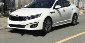 Bán Kia K5 năm 2014, màu trắng, nhập khẩu   giá 745 triệu tại Tp.HCM