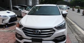 Cần bán lại xe Hyundai Santa Fe 2.2CRDI năm 2018, màu trắng giá 1 tỷ 110 tr tại Hà Nội