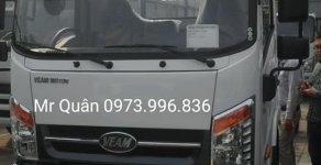 Bán xe Veam VT260-1 tải trọng 1,9 tấn thùng dài 6m- Bán xe trả góp 80%, giao ngay giá 450 triệu tại Hà Nội