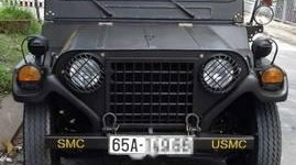 Cần bán Jeep A2 1980, màu đen giá 220 triệu tại Cần Thơ