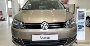 Volkswagen Sharan 2018 màu đồng - xe gia đình 7 chỗ cao cấp, chính hãng từ châu âu/ hotline 090.898.8862   giá 1 tỷ 850 tr tại Tp.HCM