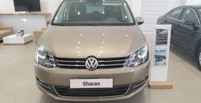 Bán Volkswagen Sharan màu đồng - xe gia đình cao cấp, nhập khẩu Châu Âu, hỗ trợ trả góp 90%, hotline 090.898.8862 giá 1 tỷ 850 tr tại Tp.HCM