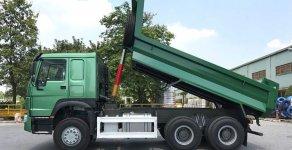 Bán xe ben Howo 3-4 chân (thùng 13 khối) giá góc nhà máy, hỗ trợ trả góp 80% giá trị xe giá 990 triệu tại Tp.HCM