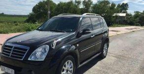 Cần bán lại xe Ssangyong Rexton II năm 2008, màu đen giá 380 triệu tại Tp.HCM