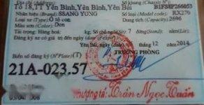 Cần bán Ssangyong Rexton II sản xuất năm 2008, màu đen, 395 triệu giá 395 triệu tại Yên Bái