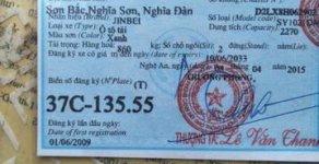 Cần bán Vinaxuki JINBEI năm 2009, màu xanh lam giá 65 triệu tại Nghệ An