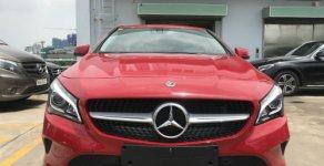 Bán xe Mercedes CLA200  1.6 Turbo AT năm 2018, màu đỏ giá 1 tỷ 529 tr tại Tp.HCM